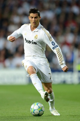 Ronaldo Doing A Step Over